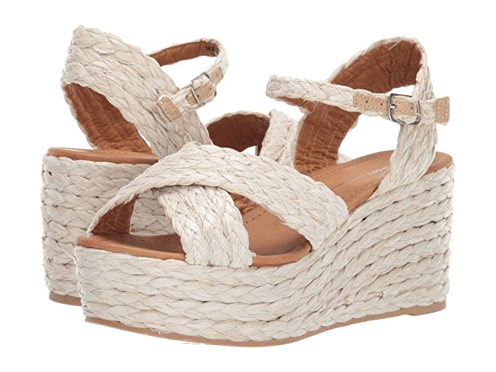 70s Shoes, Platforms, Boots, Heels Report Vacay Natural Womens Shoes $29.85 AT vintagedancer.com