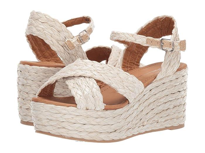 Vintage Sandals | Wedges, Espadrilles – 30s, 40s, 50s, 60s, 70s Report Vacay Natural Womens Shoes $31.03 AT vintagedancer.com