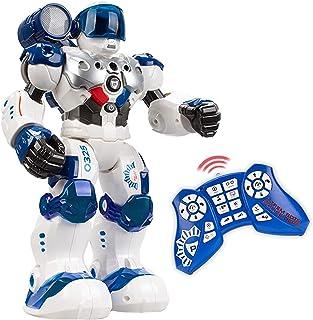 Xtrem Bots - Patrol Policía, Robot Juguete Teledirigido, Robots para Niños 5 Años O Más, Juguetes Robotica Programable, 50...