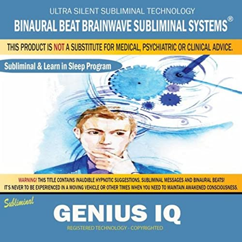 Genius Iq: Combination of Subliminal & Learning While Sleeping