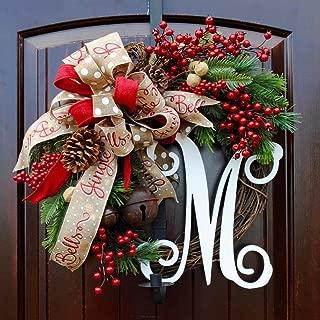 Best monogram christmas wreath Reviews