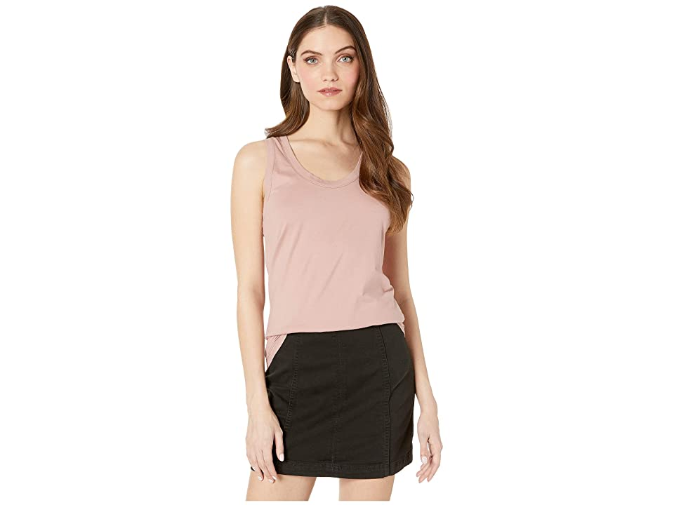 Image of AG Adriano Goldschmied Cambria Tank (Industrial Mauve) Women's Clothing