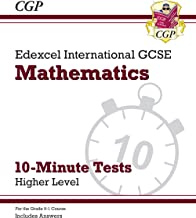 New Grade 9-1 Edexcel International GCSE Maths 10-Minute Tests - Higher (includes Answers) (CGP IGCSE 9-1 Revision)