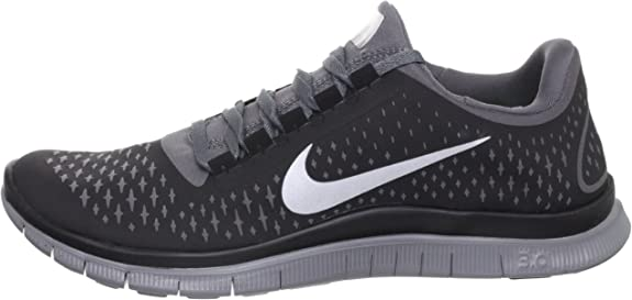 Nike Free 3.0 V4 Running Shoes - 12.5 - Black ... - Amazon.com
