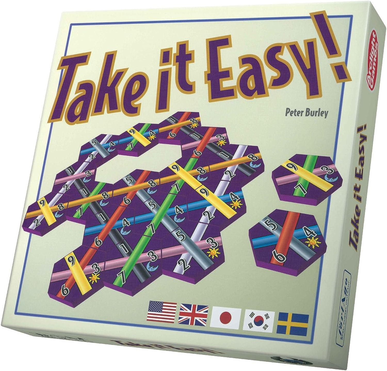 Eagle-Gryphon Games EAG01822 Brettspiel Take it Easy-International B01JH4DTVQ Bevorzugtes Material    | In hohem Grade geschätzt und weit vertrautes herein und heraus