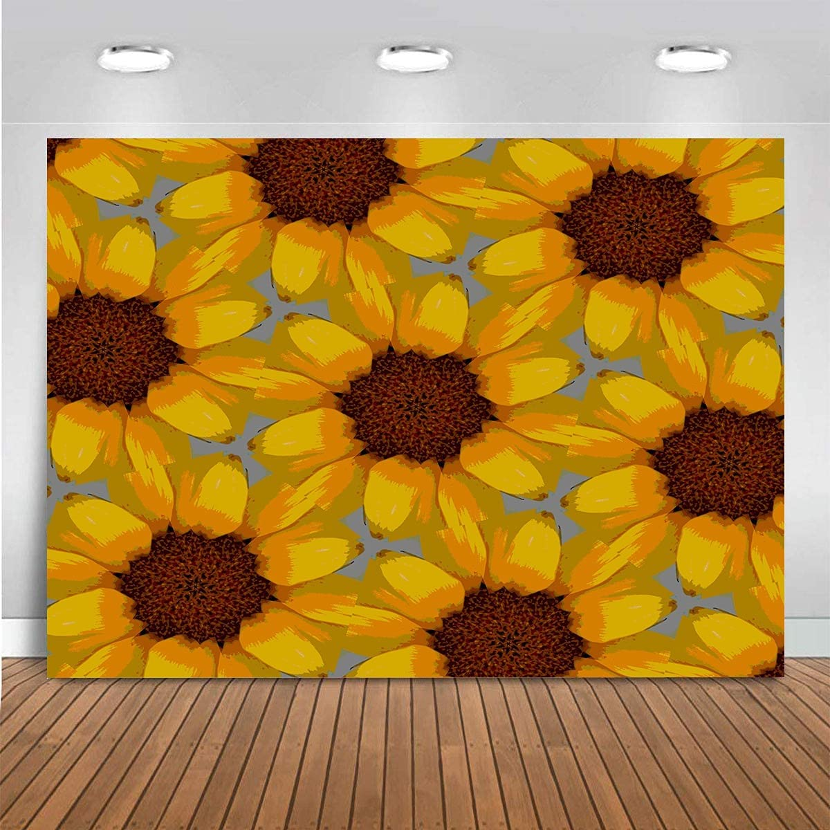 Claiyi Sunflowers Backdrop Seasonal Wrap Introduction Floral Sunflower Photography Max 61% OFF