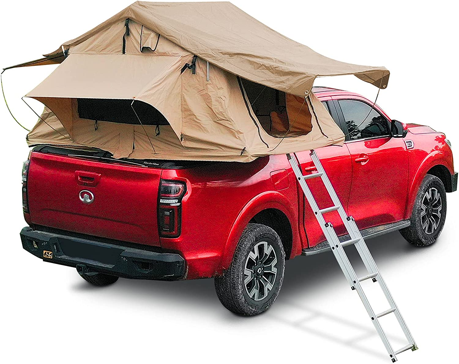 Roof Tent Max 84% OFF with Limited time trial price Retractable Ladder Car Bed for Tents Pickup Camp