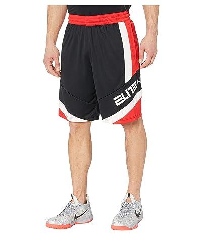 Nike Dry Elite Shorts Block (Black/University Red/Black/White) Men