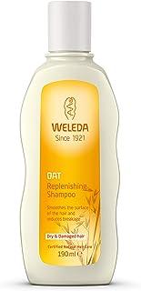 WELEDA Hafer Aufbau-Shampoo, Naturkosmetik Pflegedusche für strapaziertes und trockenes Haar, Haarshampoo glättet die Haare und mindert Haarbruch und Spliss 1 x 190 ml