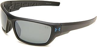 نظارات شمسية مستطيلة الشكل من اندر ارمور اسيرت عدسات مستقطبة أسود/ رمادي، 70 ملم