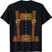 Lederhosen Oktoberfest German Festival Costume T-Shirt