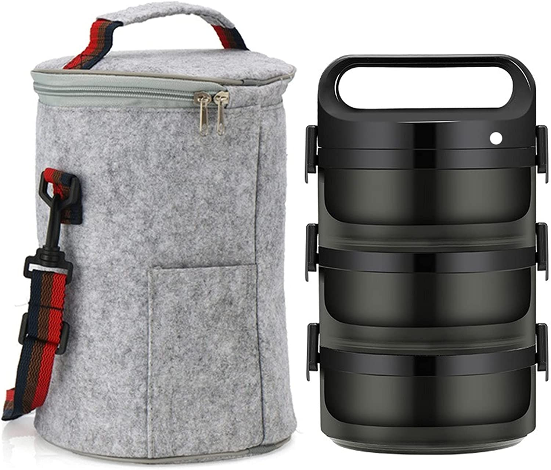 2-3 Layer Bento Box Leak-proof Student School Portable Set Style Max 54% OFF Max 53% OFF