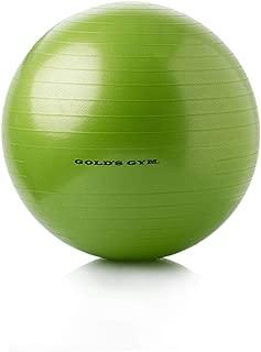 Body Ball Gold's Gym 55 cm Anti-Burst Exercise (GRN)