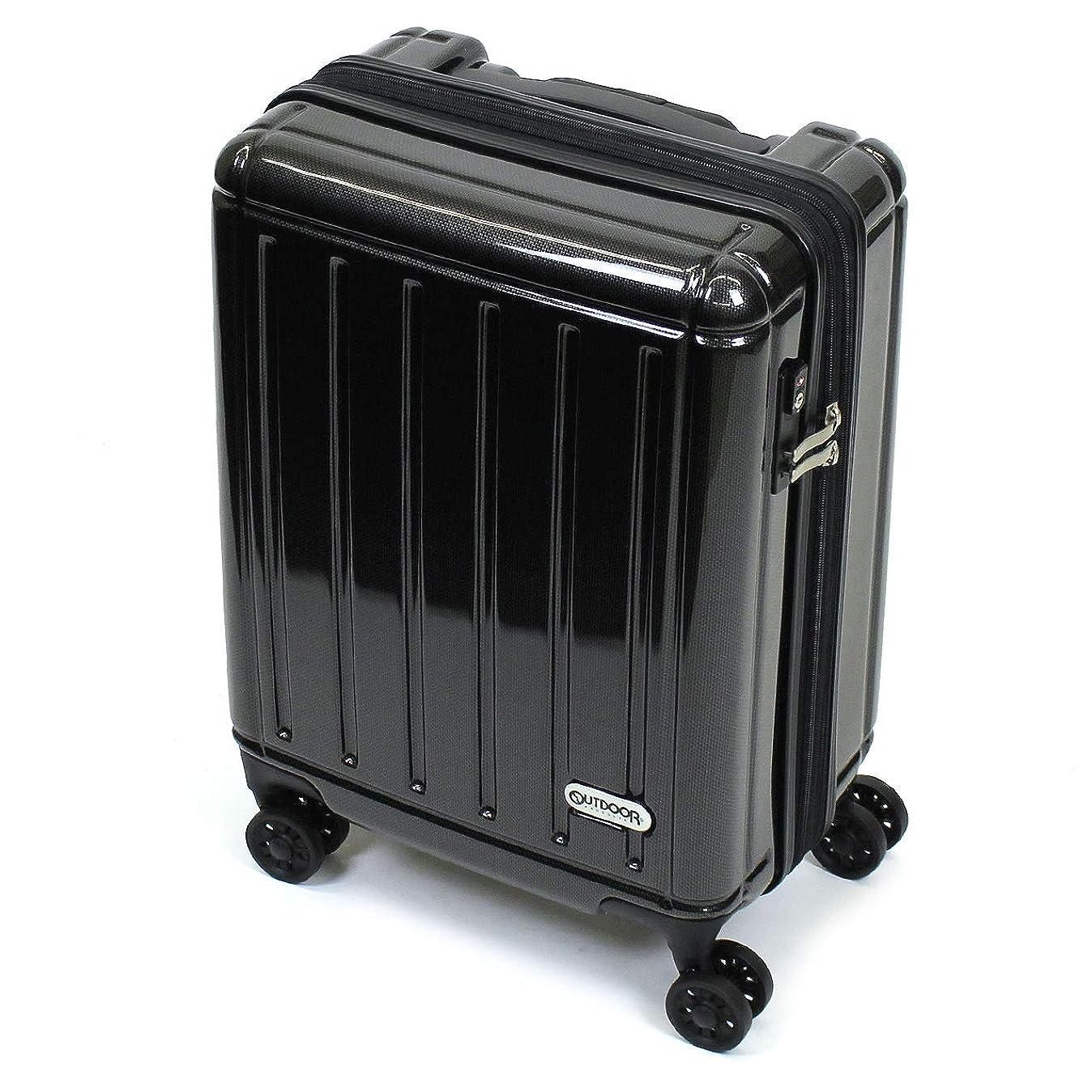 最大スケジュールプレート[OUTDOOR PRODUCTS(アウトドアプロダクツ)] スーツケース 38~47L 48.5cm 3.1kg 機内持ち込み OD-0692-48