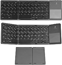 Trendy Wag Teclado Plegable con Touchpad y Bluetooth en espa