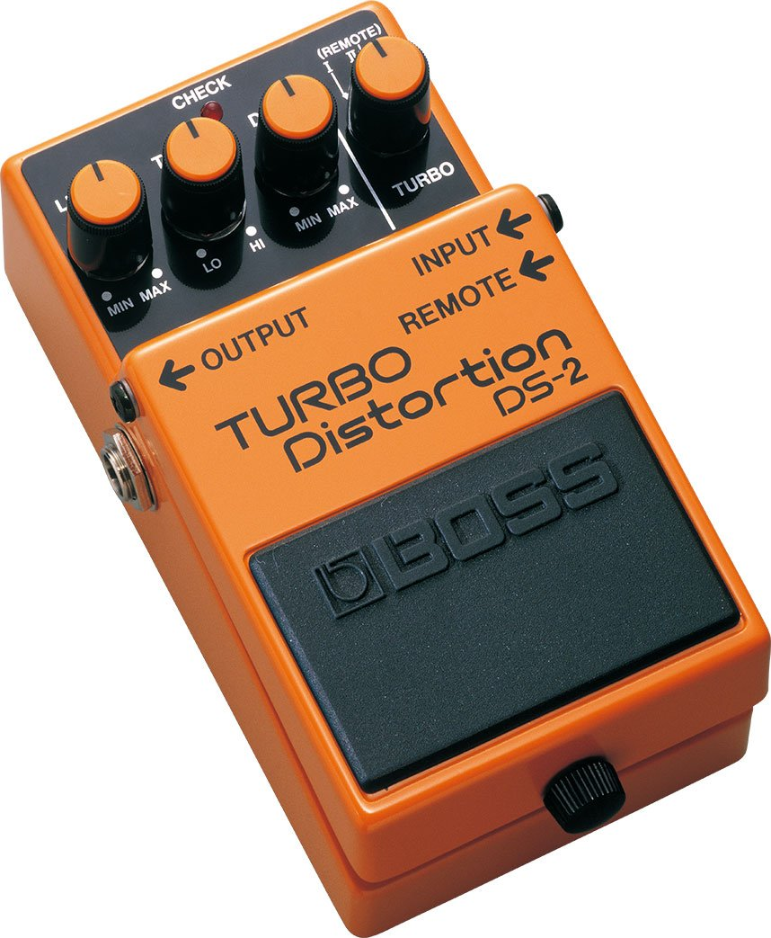BOSS DS-2 Turbo Distortion Guitar Effects Pedal: Amazon.es ...