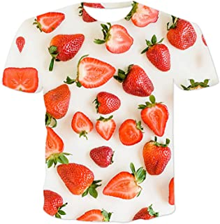 SSBZYES Camiseta para Hombre Camiseta de Verano de Manga Corta para Hombre Camiseta de Gran tamaño para Hombre Cuello Redo...