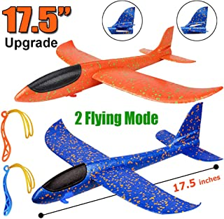 2 Pack Airplane Toys, Upgrade 17.5