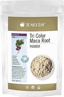 Sponsored Ad - The Maca Team – Premium Maca Powder, High-Potency – 100% Certified Organic & Fair Trade – GMO-Free – 8 Ounc...