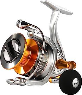 SeaKnight Rapid Saltwater Spinning Reel, 4.7:1,6.2:1 High Speed, Max Drag 33Lbs, Smooth Fresh and Saltwater Fishing Reel