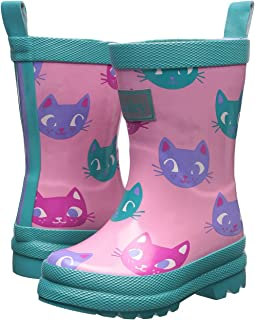 Hatley Kids - Silly Kitties Rain Boots (Toddler/Little Kid)