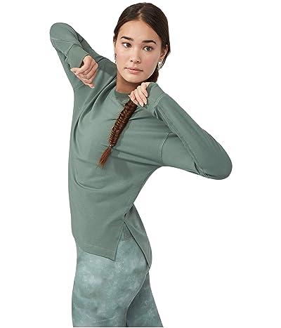 manduka Envelope Sweatshirt (Laurel Wreath) Women