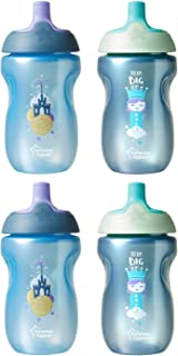 Tommee Tippee Sportee Baby Bottle 10 ounce, Boy, 12m+, 4 Count