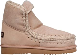 MOU Luxury Fashion Womens FW101001AROBE Pink Ankle Boots   Fall Winter 19