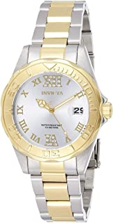Invicta Womens Quartz Watch, Analog Display and Stainless Steel Strap 12852