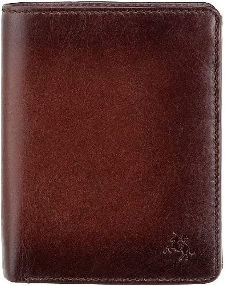 New Gents High End Visconti Atelier Burnished Leather Wallet RFID Blocking (Burnish Tan Hector AT-62)
