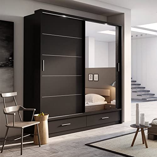 Modern Wardrobe Amazon Co Uk