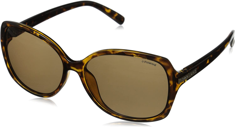 Polaroid Sunglasses Women's PLD5011S Polarized Rectangular Sunglasses
