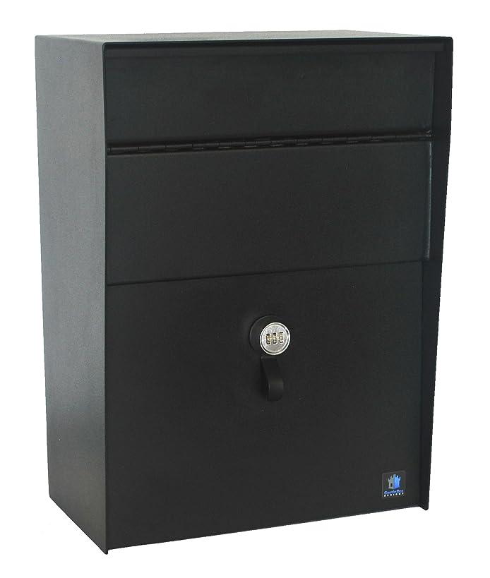 CastleBox Designs Extra Large Locking Wall Mounted Mailbox / Dropbox