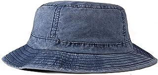 Fasbys Cappello da Pescatore in Cotone Lavato, Unisex, Ripiegabile, da Viaggio