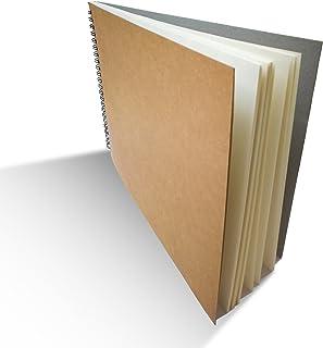 Eachgoo Espiral Encuadernación Cuaderno, Tapa Dura Cuaderno Dibujo (A4)