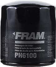 FRAM PH6100 Motorcycle Full-Flow Lube Spin-on Oil Filter