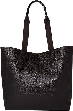 코치 그로브 토트백 - 블랙 COACH Horse and Carriage Grove Tote,DK/Black 4