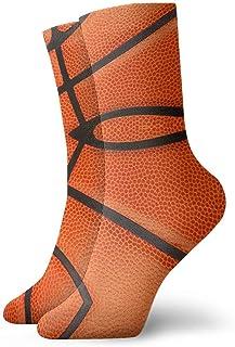 artyly, Basketball Lover Ball Texture Calcetines de vestir de fútbol atlético para hombres y mujeres Calcetines divertidos para equipo