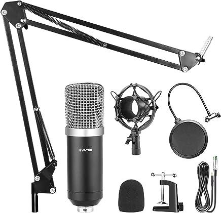 Scheam Microfono a condensatore Set, Set microfoni per Computer Laptop PC Microfono Podcast,per Registrazione Podcasting Chat in Linea - Trova i prezzi più bassi