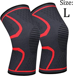 711-TEK Compression Knee Sleeves - Best Knee Brace FDA Approved for Men & Women – Knee Support for Running and All Sports,Faster Injury Recovery