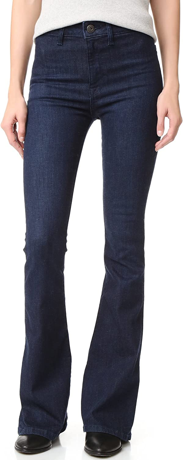 DL1961 Womens Tencel High Rise Flare Jeans