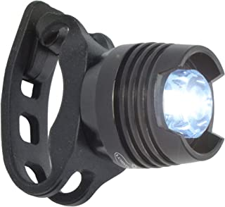 Lumintrail Waterproof LED Bike Headlight White Front Safety Bicycle Light Batteries Included