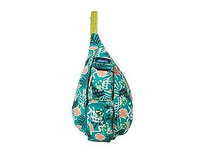 KAVU Mini Rope Bag (Jungle Party) Bags