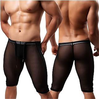 Body para Hombre Bodysuit Deportiva Leotardo Ropa Interior Sexy Deportivo de Hombre para Gimnasia Danza Bañador Bodies Elásticos