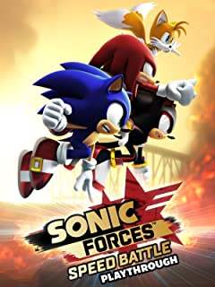 Clip: Sonic Forces Speed Battle Playthrough