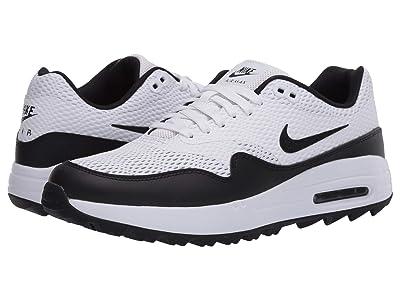 Nike Golf Air Max 1 G (White/Black) Women