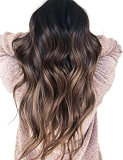Sunny Ombre Balayage Human Hair Lace U Part Wig 16
