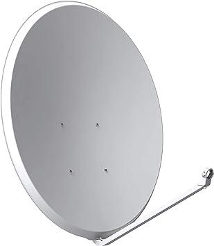 Tecatel Antena parabólica de Acero Galvanizado (100 cm)