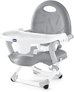 Chicco Pocketsnack Booster Seat, Grey