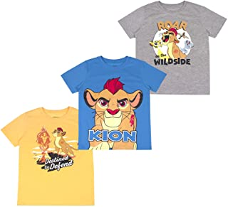 Best Boys 3-Pack T-Shirts: Wide Variety Includes Lion King, Cars, Mickey Mouse Review